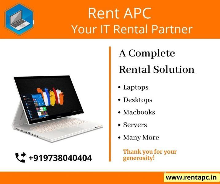 RentaPC: Laptop on Rent | Macbooks | Desktops @Lowest Price Delhi India