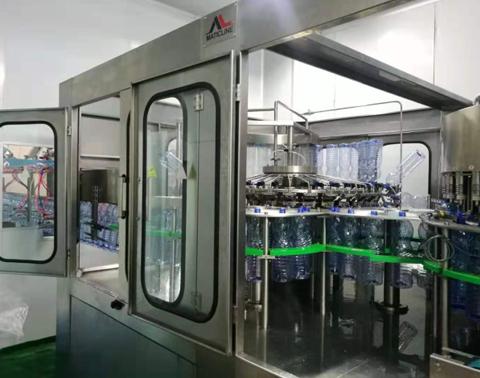 Liquid Filling Bottling Production Line Manufacturer China
